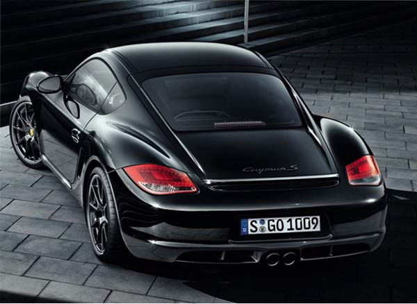 Porsche Cayman S Black Edition - новое купе
