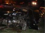 Водитель Ford Sierra убежал с места ДТП после лобовой