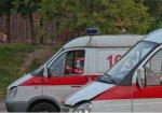 Alfa Romeo врезалась в скорую помощь в Минске