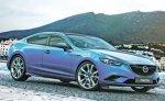 В 2014 году представят Mazda 6 в кузове купе