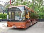 В столице появился автобус МАЗ с газовым двигателем