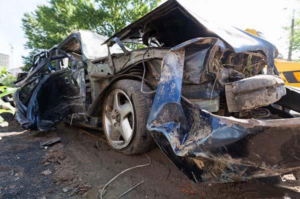 Водитель потерял руку в ужасном ДТП на МКАД