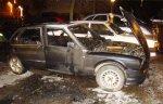 Загорелся BMW 318 с водителем на ул. Якубова
