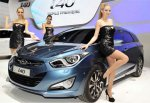 Новый седан Hyundai i40 представят в Барселоне