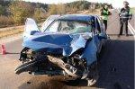 В Гродно на перекрёстке Hyundai столкнулся с грузовым ГАЗом