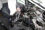 На трассе М1 Mercedes Vito столкнулся с фурой MAN