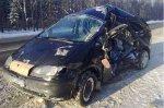 Трасса Минск-Гомель: Ford врезался в Mercedes - погиб 24-х летний водитель
