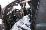 Автомобиль сгорел из-за включенной плитки