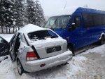 В Борисовском районе в ДТП скончалась девушка-водитель