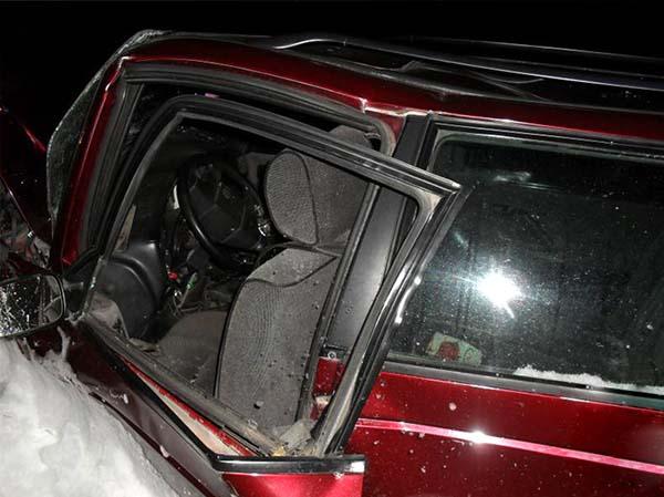 В Каменецком районе произошло столкновение трех автомобилей