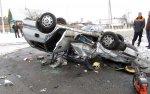 В Жлобинском районе столкнулись Renault Scenic и Toyota Carina E