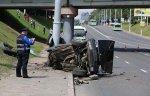 В столице BMW разорвало пополам, скончался молодой водитель