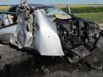 На трассе Минск — Микашевичи произошло столкновение Peugeot 607 и МАЗ