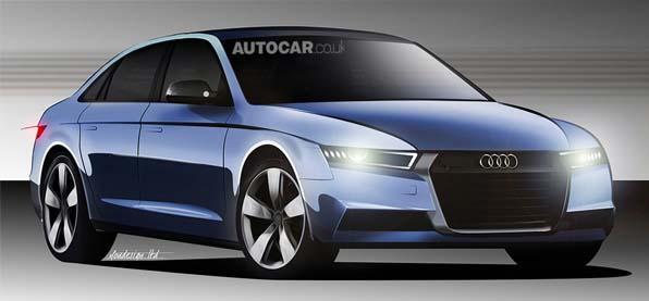 Автомобиль Audi A4 новой генерации обзаведется гибридными модификациями