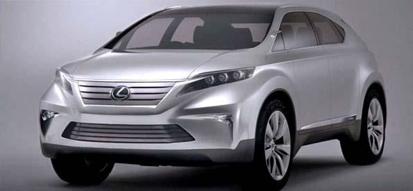 Lexus презентовал прототип модели LF-NX
