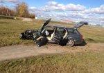 Водителю Audi стало плохо, из-за чего он въехал в столб
