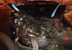 В столице на пересечении улиц произошло столкновение BMW и Fiat