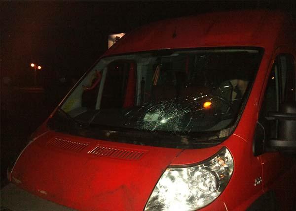 Мужчина на Fiat Ducato сбил девушку и протащил ее несколько десятков метров