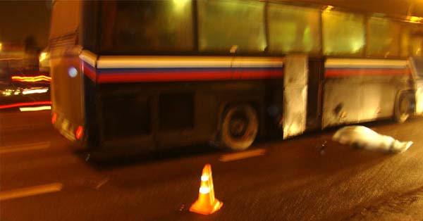 В Минске автобус совершил наезд на пешехода