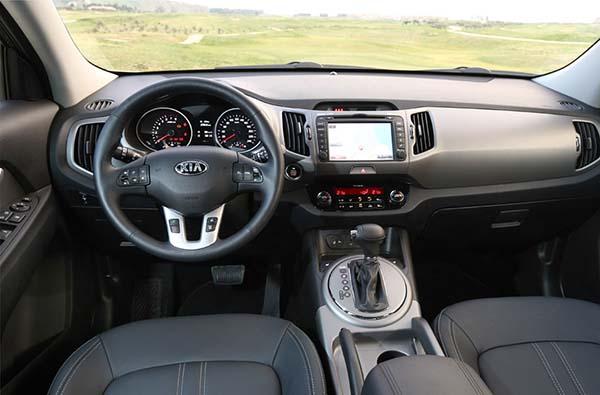 Старт продаж улучшенной модели Kia Sportage