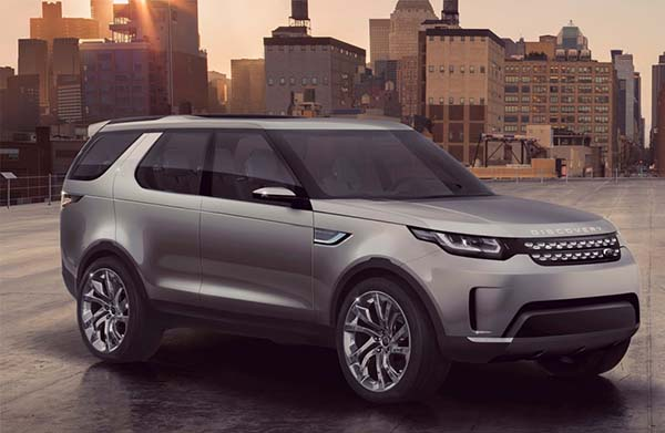 Новый Land Rover Discovery напоминает модель Evoque