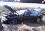 На трассе М1 столкнулись BMW, Ford и Renault
