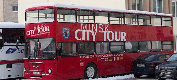 В столице появится еще один 2-этажный автобус со сдвижным верхом