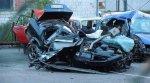 В Светлогорском районе легковушку разорвало пополам – двое погибших