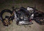 На МКАД произошла авария с участием водителя мотоцикла Kawasaki
