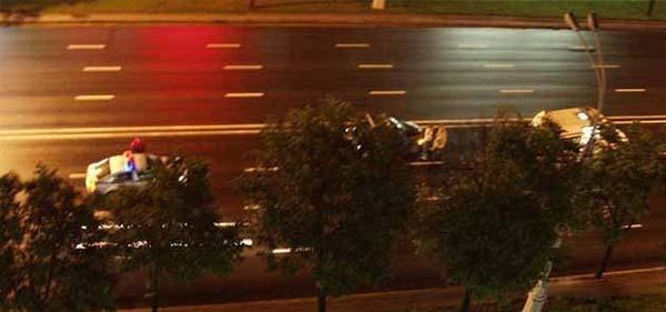 В Минске на просп. Независимости произошел наезд на пьяного мужчину