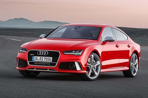 Презентация обновленной модели Audi RS7