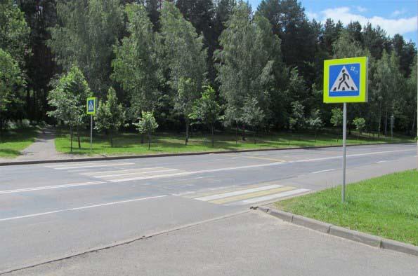 На столичной улице Ваупшасова используется другой вариант организации движения