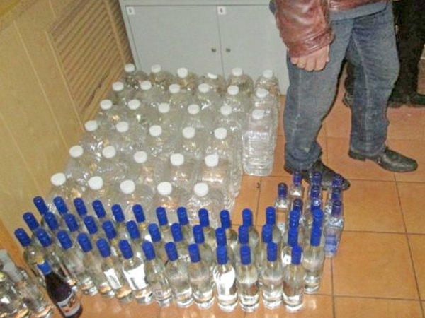 Спиртное «течёт» через границу