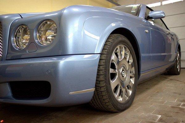 Бронировка фар для Bentley Azure в Беларуси