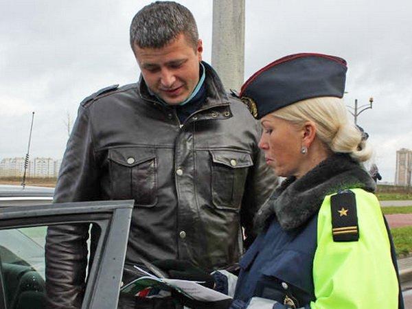 ГАИ Фрунзенского района Минска стимулирует установку зимних шин методом «пряника»