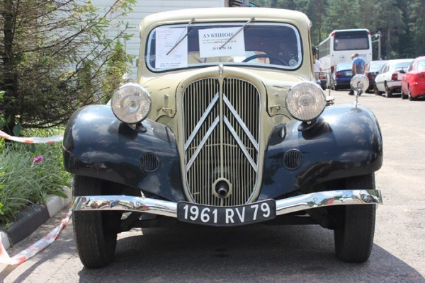 Citroёn 7C 1936 года выпуска продан на аукционе в Беларуси