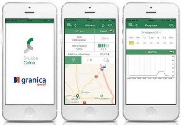Мобильное приложение Granica для тех, кто едет в Польшу и обратно