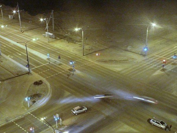 Авария в Минске на перекрёстке улиц Казимировской и Неманской – все живы