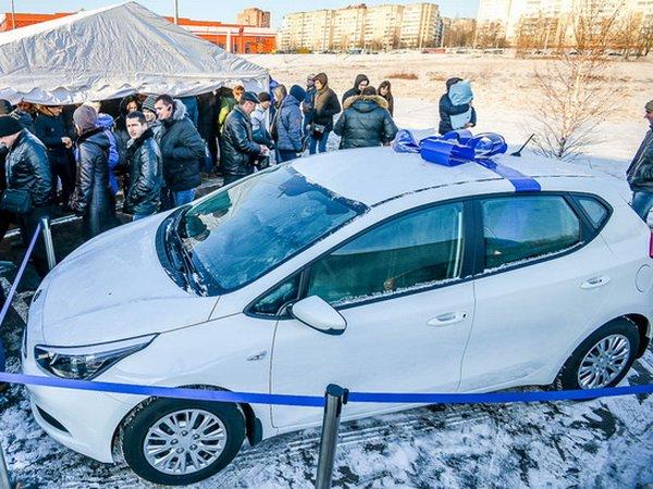 Сеть АЗС «Газпромнефть» разыграла среди клиентов автомобиль Kia Cee'd