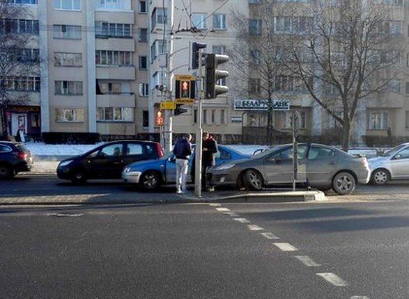 Московская улица в Минске бьёт рекорды по ДТП