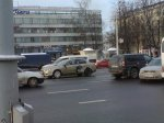 Очередное ДТП на улице Московской в Минске