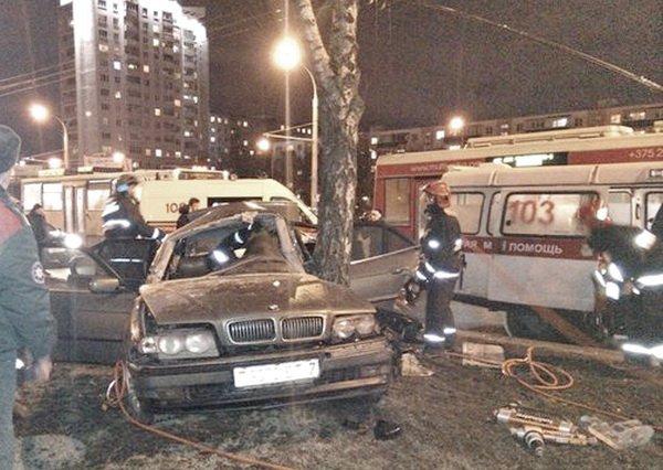 Новые снимки с ДТП на Партизанском проспекте