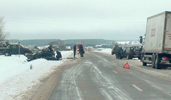 Четверо погибших в ДТП на трассе Р11 – видео