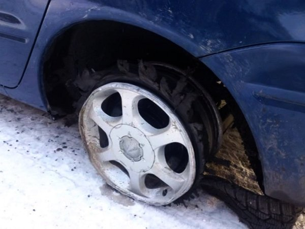 Погоня со стрельбой в Пинске за Audi 80