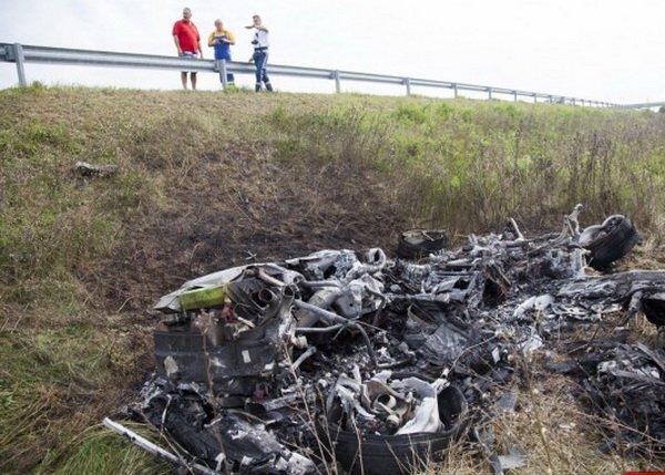 Видео первой аварии суперкара Lamborghini Huracan