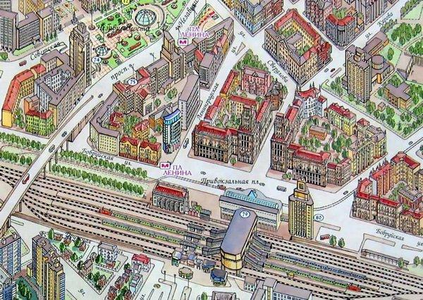 В Минске с завтрашнего дня прекращается движение трамваев в районе железнодорожного вокзала