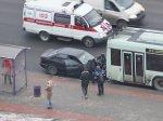 Опять ДТП с участием BMW: в Минске столкновение с троллейбусом