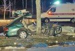 В Новополоцке в аварии погиб молодой человек, трое его друзей живы