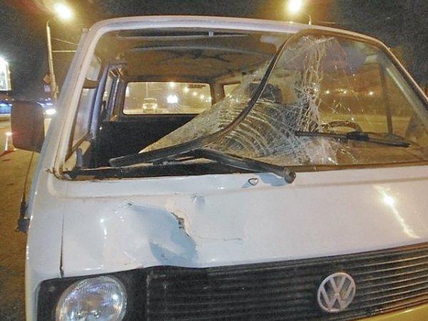 VW Transporter сбил мужчину в Гомеле – пешеход скончался