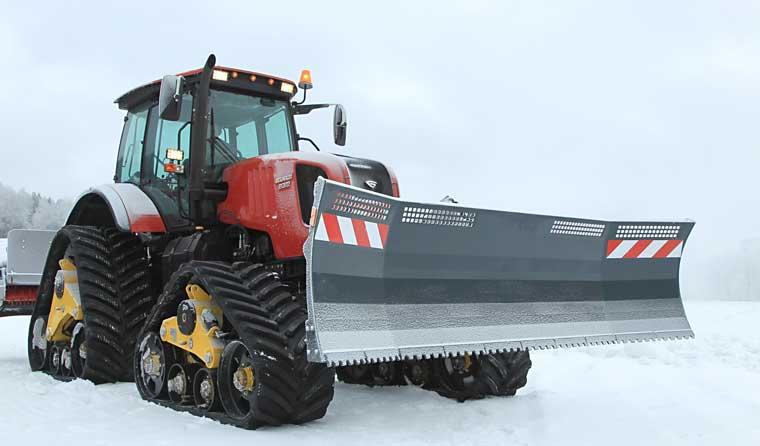 МТЗ представил 3 варианта снегоуборочной техники